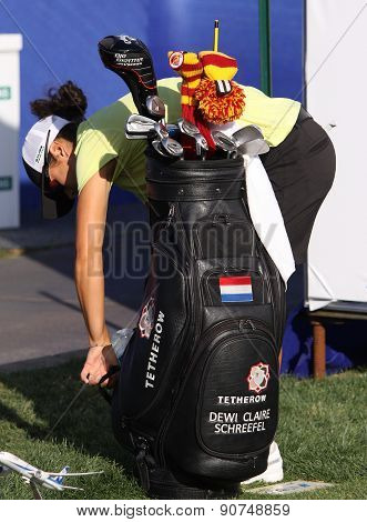Dewi Claire Schreefel At The Ana Inspiration Golf Tournament 2015