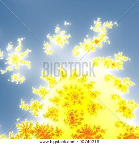 Fractal Floral Pattern