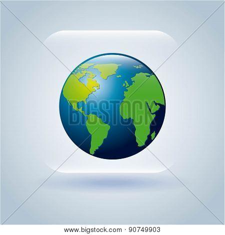global design over gray background vector illustration