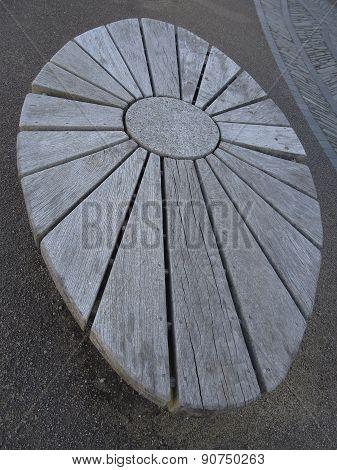 Sun Themed Bench