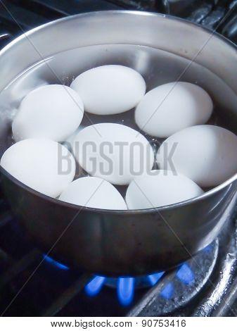 Preparing Hard-boiled Eggs
