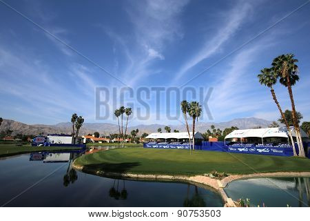 Golf Course At The Ana Inspiration Golf Tournament 2015