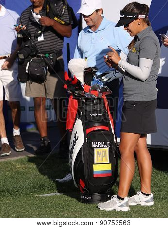 Mariajo Uribe At The Ana Inspiration Golf Tournament 2015