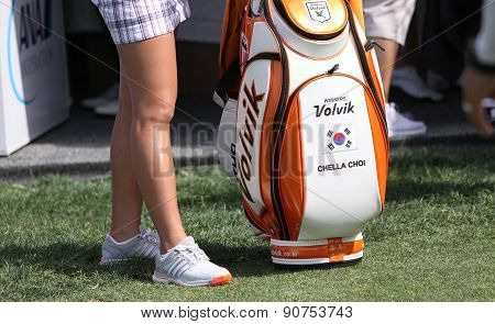 Chella Choi At The Ana Inspiration Golf Tournament 2015