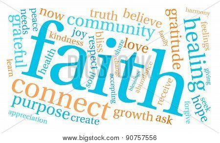 Faith Word Cloud