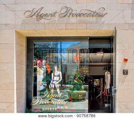 Agent Provocateur Retail Store Exterior