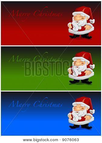 Marry Christmas Santa Claus