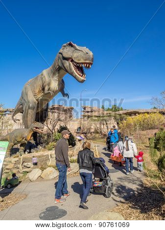 Animatronic Dinosaurs exhibit