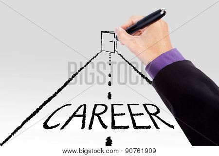 Road To Get The Career Door