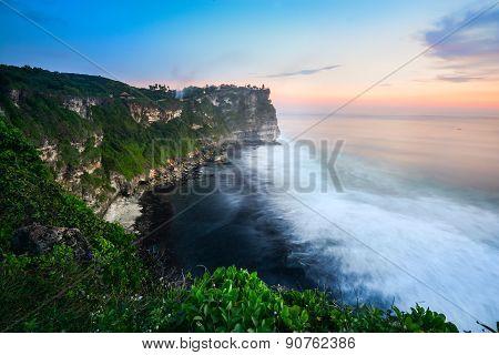 Sunset At Uluwatu, Bali, Indonesia