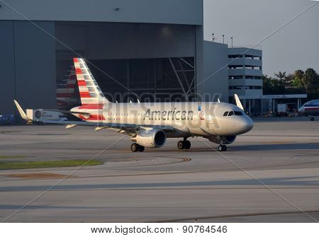 American Airlines Airbus A-319 Jet