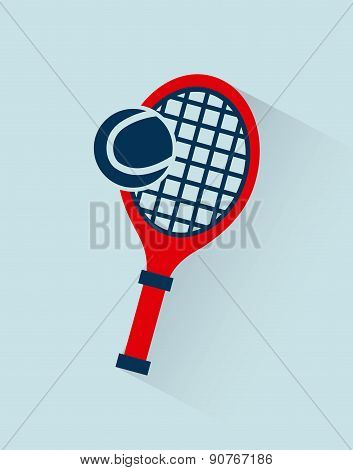 Fitness and sports design over  blue background vector illustrat