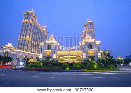 Galaxy Casino In Macau, China