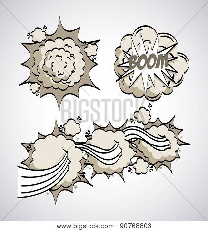 Pop art design over gray background vector illustration