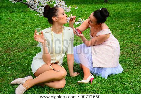 Girls Makeup In Vilnius City Sakura's Garden