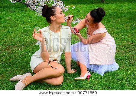 Girls Makeup In Vilnius City Sakura's Garden