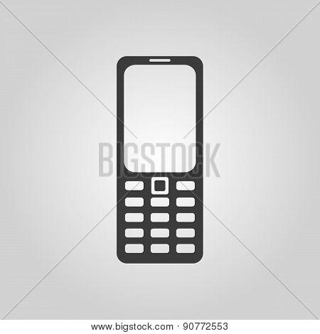 The Phone Icon. Cellphone Symbol.