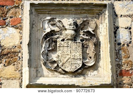 Coat of Arms in old wall
