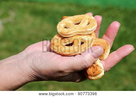 Women's Hand Cookies