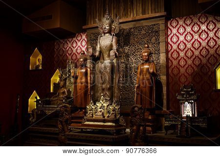 Buddha Carved Wood