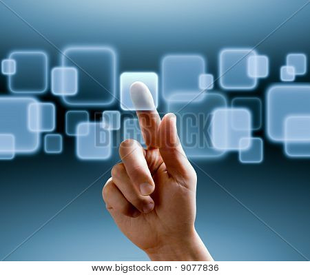 Touchscreen-Interface