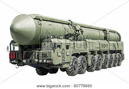 Intercontinental Ballistic Missile Mobile