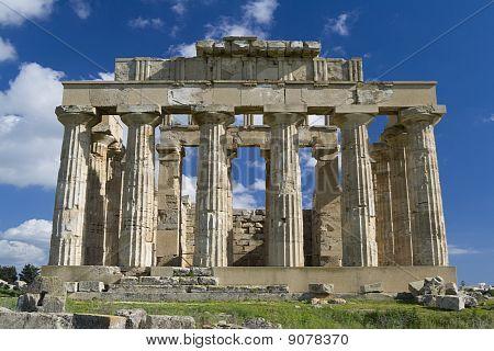 Ruins of Temple E, Selinunte.