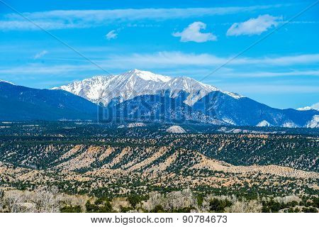 Colorado Rocky Mountains Vista Views