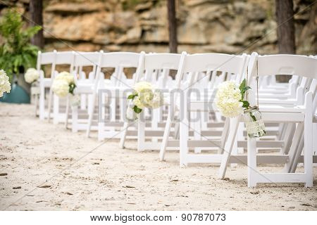 Wedding Isle On White Sand