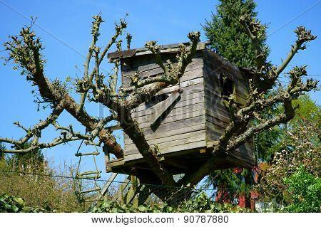 Homemade Treehouse