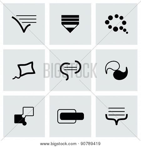 Vector Bulds icon set