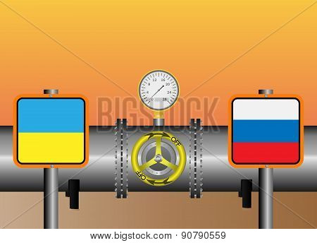 Gas Pipeline Ukrainian