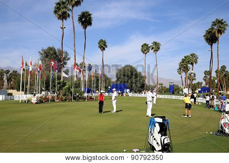 Putting Green At The Ana Inspiration Golf Tournament 2015