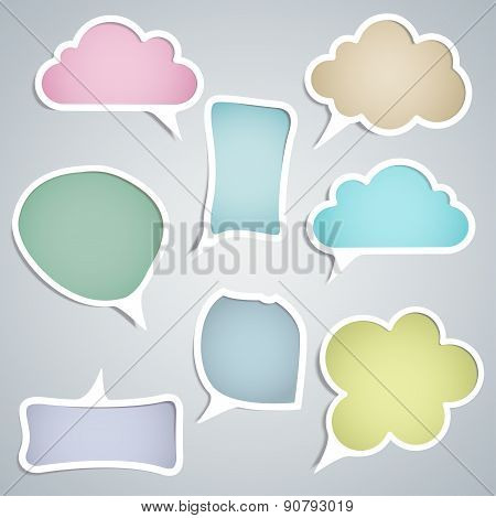 Speech Clouds Of Different Configurations