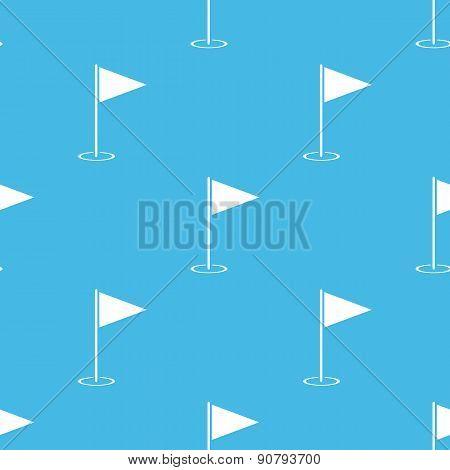 Blue flagstick pattern