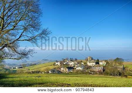 Grayrigg village in Cumbria