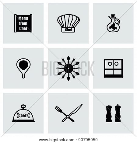 Vector Chef icon set