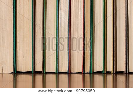 Multicolored Old Books