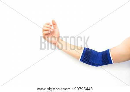 Hand With A Wrist Support Isolated