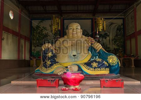 chinese monk statue for katyayana