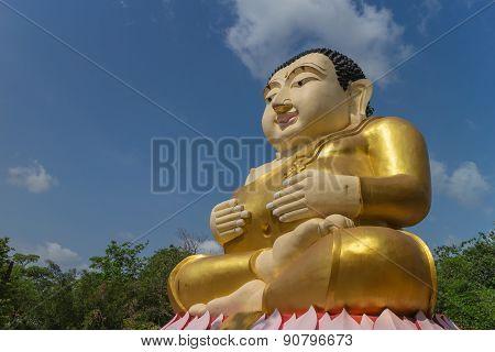 monk statue for katyayana