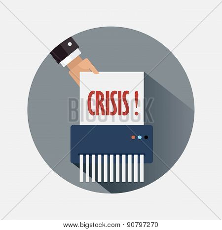 Business strategy for crisis elimination