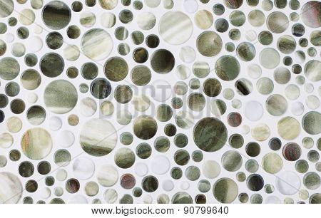 Marble Tiles round
