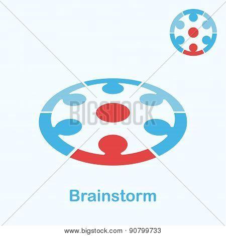 Brainstorm Logo Concept