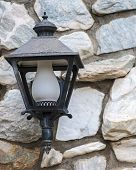 picture of lamp post  - Close - JPG