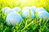 stock photo of balls  - Golf game - JPG