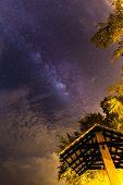 Milky Way At Kuantan Beach, Malaysia poster