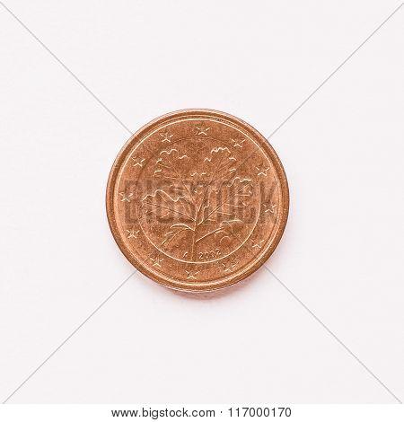 German 1 Cent Coin Vintage