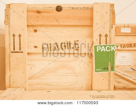Wood Box Vintage