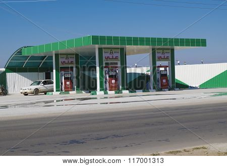 Fuel Station In Iraq